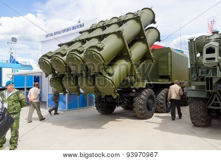 Bal (SSC-6 Sennight) - coastal mobile missile complex, self-propelled launcher