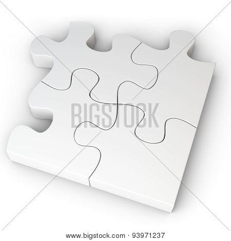 3D Jigsaw Puzzle Concept