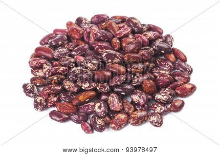 Pile Of Beans Close Up