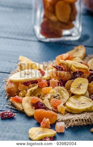 Dried Fruits, Healthy And Delicious