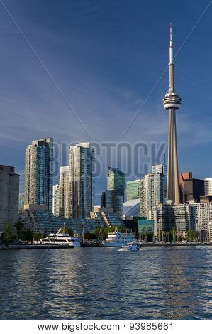 Buildings Along The Toronto Waterfront
