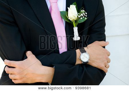 Groom Is Waiting