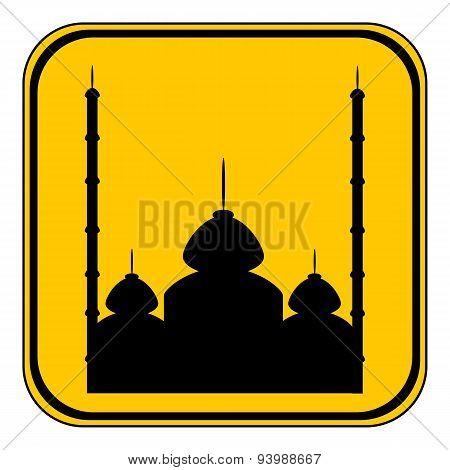 Mosque Button.