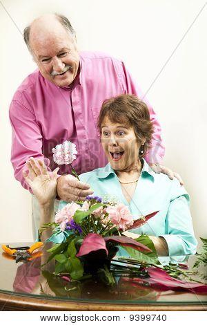 Sorpresa de flor