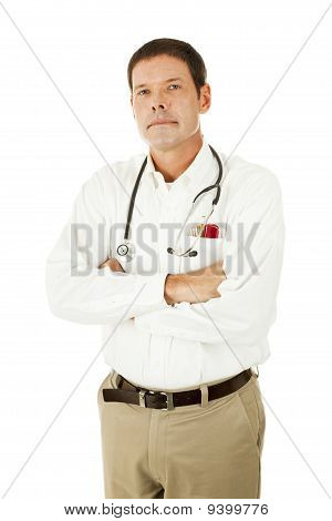 Serious Medical Doctor