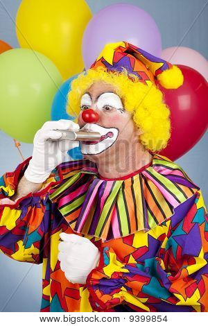 Thirsty Clown