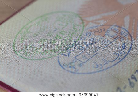 Uae Entry And Exit Stamps