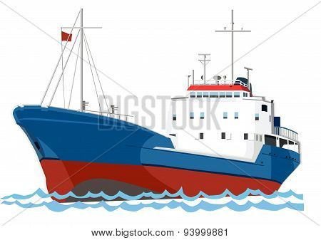 trawler fishing boat