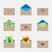 pic of no spamming  - Envelopes set - JPG