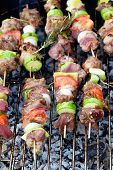 picture of bbq food  - Summer barbecue - JPG