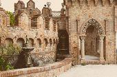 foto of castle  - Part of Colomares Castle - JPG