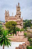 foto of castle  - Colomares Castle - JPG