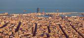 Постер, плакат: Panorama Barcelona