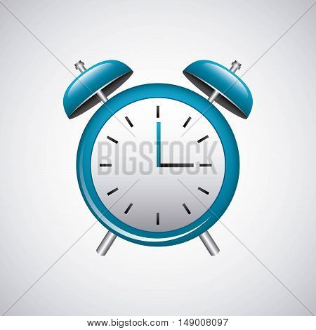 alarm time watch isolated icon vector illustration design