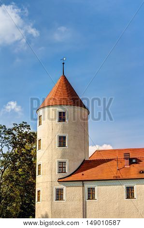 Freudenstein Castle In Freiberg