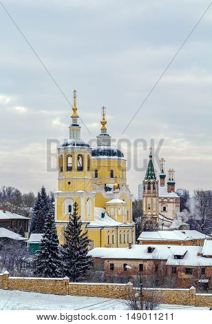 Church proroka Ilií is an Orthodox Church in the town of Serpukhov Russia. Located in the historic city center
