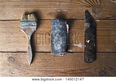 Old Rusty Tool