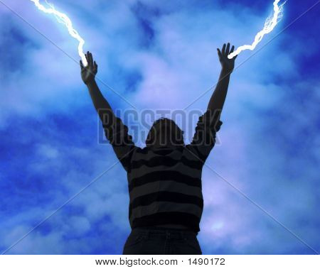Lightning Bolts From Hands