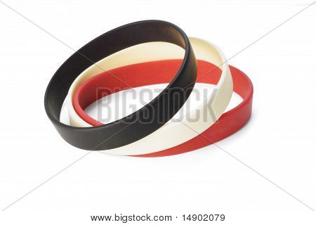 Colorful Elastic Wrist Bands
