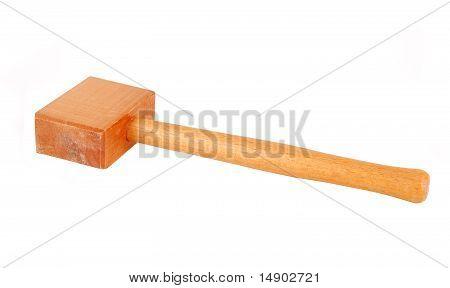 Wooden hammer (mallet)