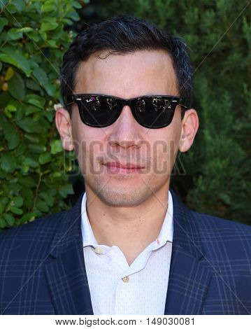 LOS ANGELES - SEP 25:  Conrad Ricamora arrives to The Rape Foundation Annual Brunch on September 25, 2016 in Beverly Hills, CA