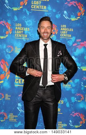 LOS ANGELES - SEP 24:  Paul Hollowell at the Los Angeles LGBT Center 47th Anniversary Gala Vanguard Awards at the Pacific Design Center on September 24, 2016 in West Hollywood, CA