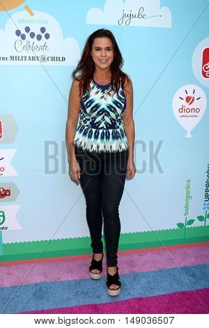 LOS ANGELES - SEP 24:  Rosa Blasi at the 5th Annual Red Carpet Safety Awareness Event at the Sony Picture Studios on September 24, 2016 in Culver City, CA