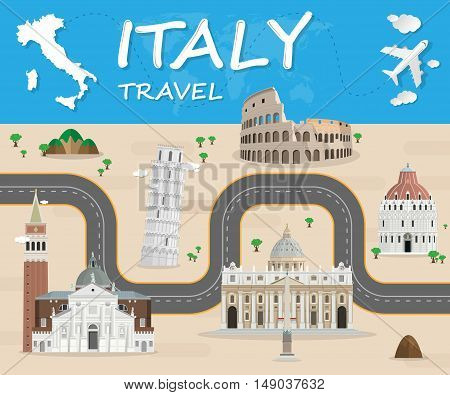 poster of italy travel Icon. travel Icon Vector. travel Icon Art. travel Icon eps. travel Icon Image. travel Icon logo. travel Icon Sign. travel Icon Flat. travel Icon design. travel icon app. travel icon UI