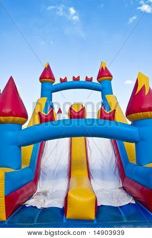 Children's Inflatable Castle Jumping Playground