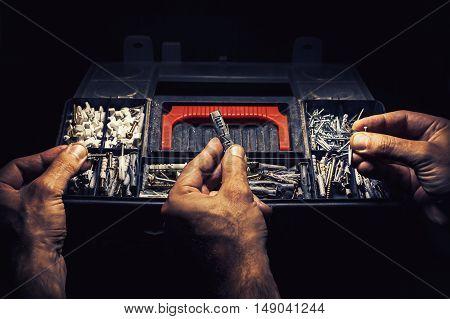 Nails, Screws Or Anchors