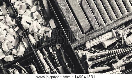 Nails, Screws And Anchors