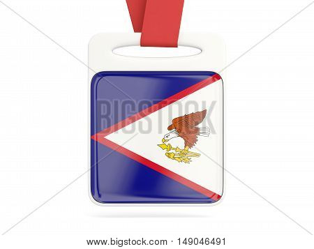 Flag Of American Samoa, Square Card