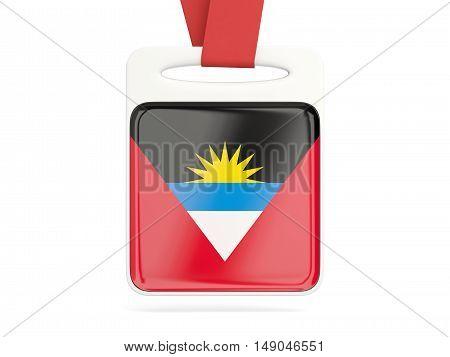Flag Of Antigua And Barbuda, Square Card