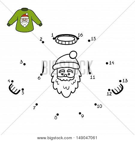 Numbers Game, Pullover With Santa Claus