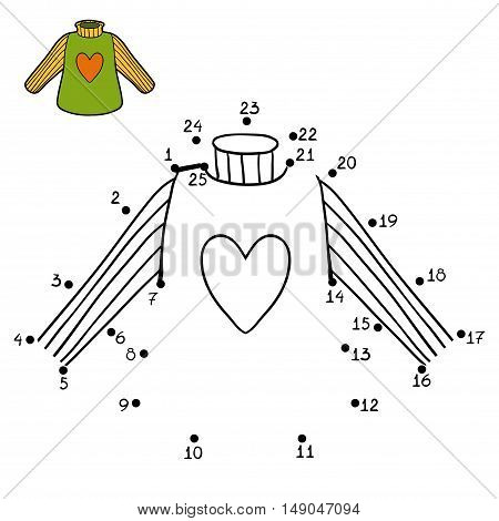 Numbers Game, Pullover With Heart