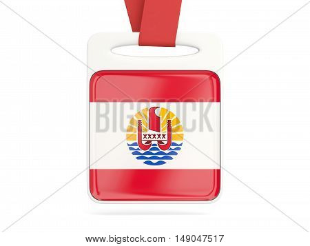 Flag Of French Polynesia, Square Card