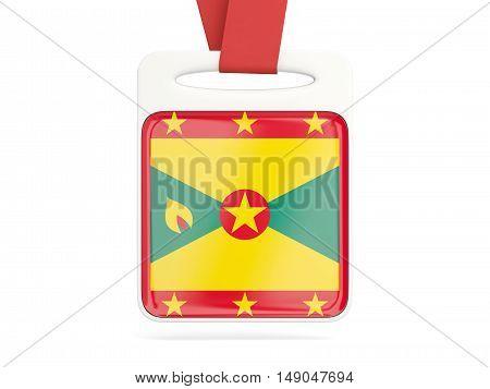 Flag Of Grenada, Square Card