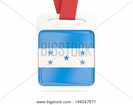 Flag Of Honduras, Square Card