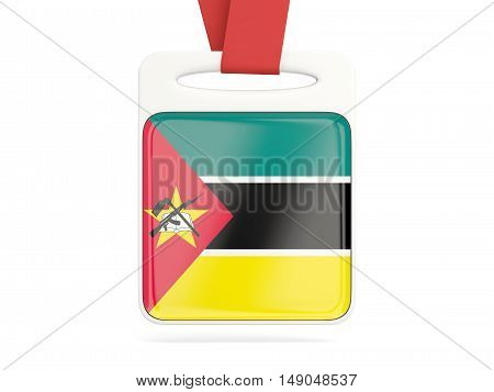 Flag Of Mozambique, Square Card