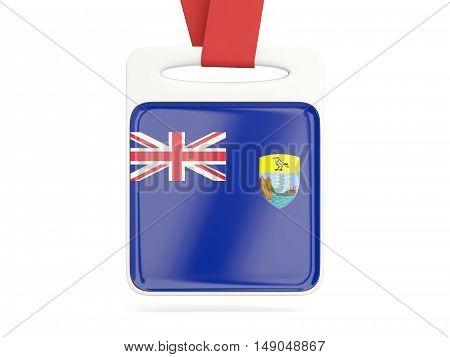 Flag Of Saint Helena, Square Card