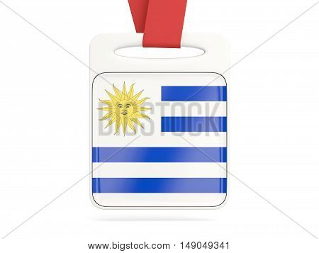 Flag Of Uruguay, Square Card