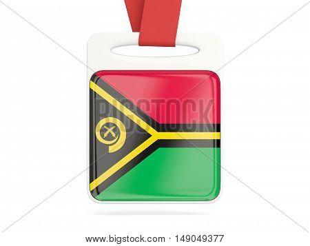 Flag Of Vanuatu, Square Card