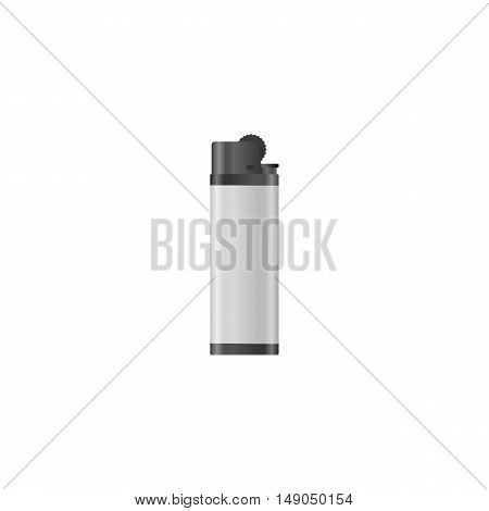Lighter isolated on white background vector illustration