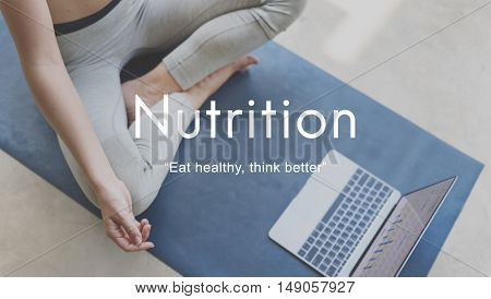 Nutrition Diet Healthy Life Nutritional Eating Concept