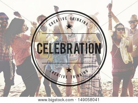 Celebration Fun Party Happiness Enjoyment Concept