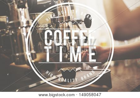 Coffee Time Break Relaxation Cafe Concept
