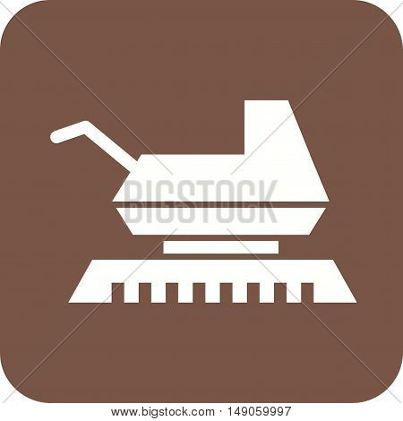 Farming, agriculture, crop icon vector image. Can also be used for farm. Suitable for mobile apps, web apps and print media.