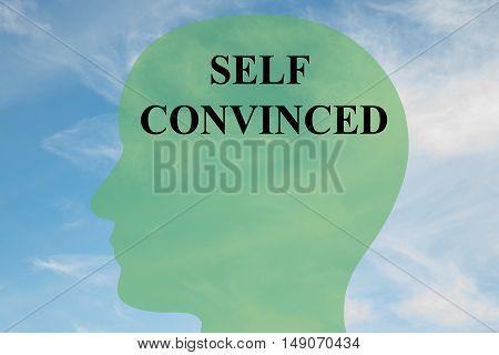 Self Convinced - Mental Concept
