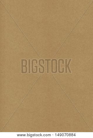 Dark Brown Retro Style Kraft Paper Background