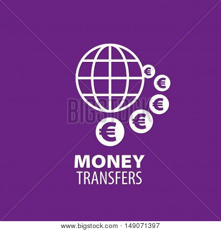 logo design template remittances. Vector illustration of icon